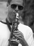 Central Park sax concerto