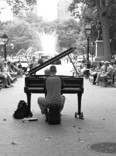 Washington Square Park Maestro
